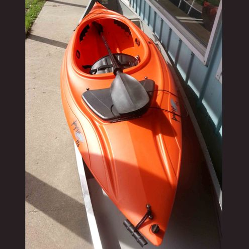 Lifestyle Kayak with paddle