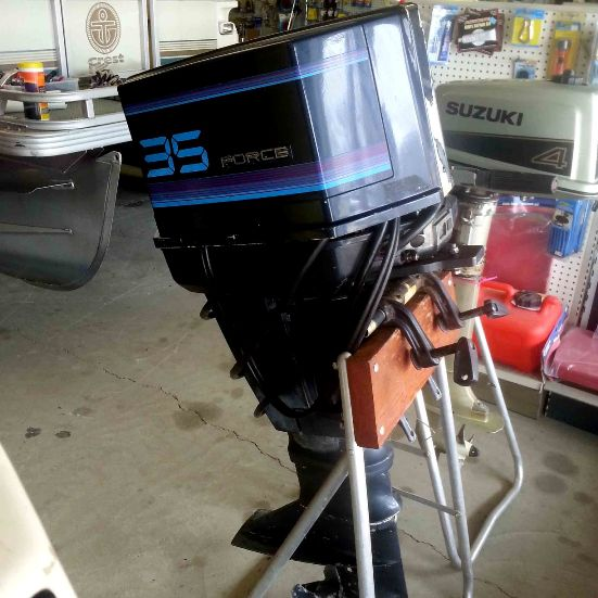 1987 force 35 hp engine outboard motors showroom for 125 hp force outboard motor for sale