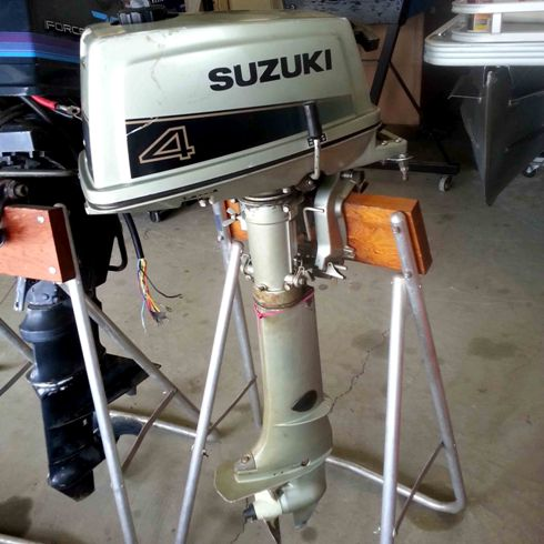 1988 Suzuki 4 HP Engine